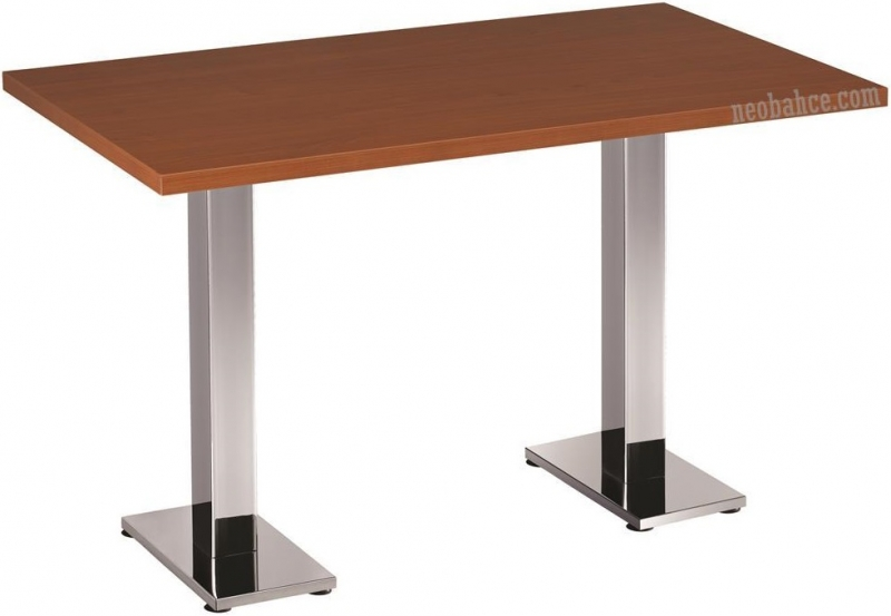 Bold 70x120cm Melamine Coated Chipboard Table 30mm