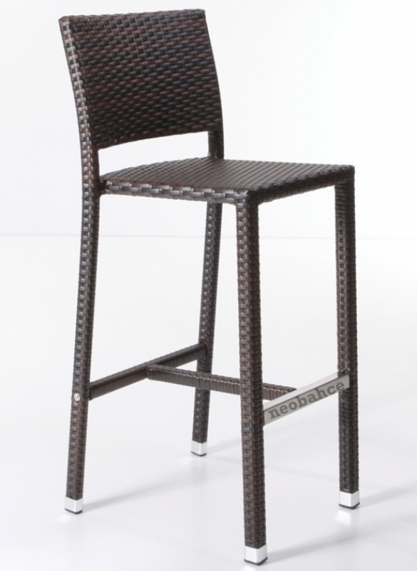 Modern Rattan Bar Chair Bistro Chair