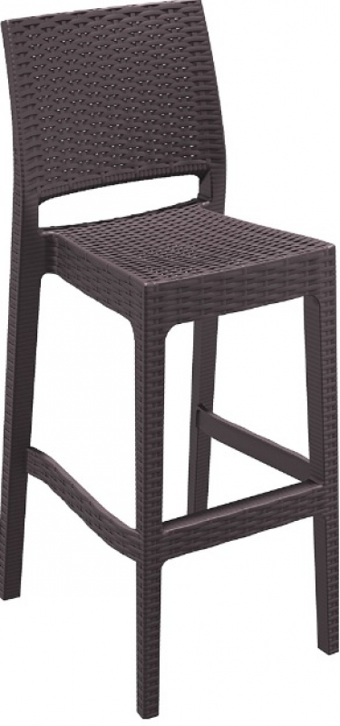 Jamaica Rattan-Looking Injection Bar Chair