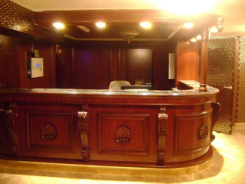 Reception Desk and Bar Design and Manufacturing