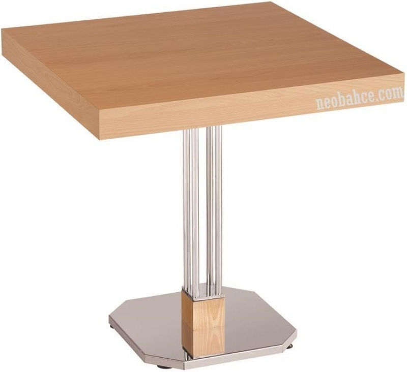 Caprice 70x70cm Melamin-Surfaced Table